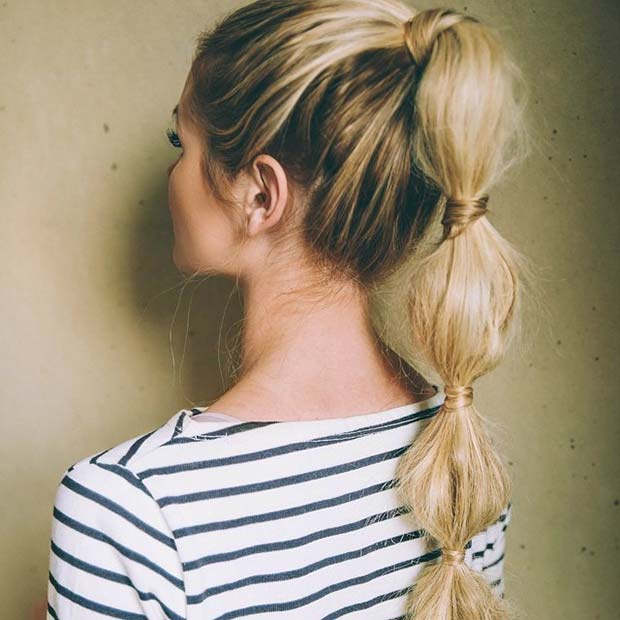 hairstyles-for-long-hair-bubbleponytail