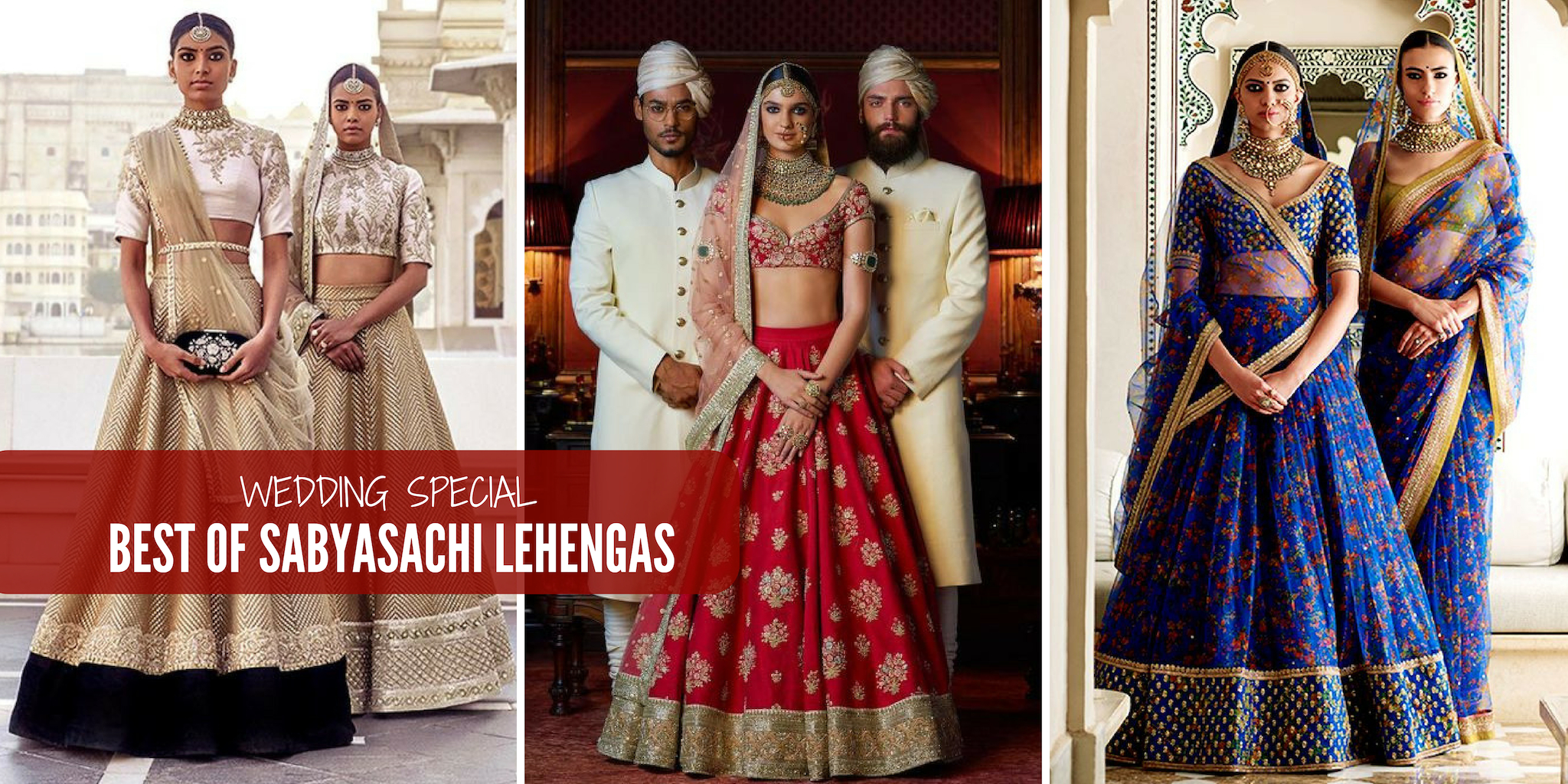 Can You Wear Red To A Wedding.Best 20 Sabyasachi Lehengas For Wedding Wear Inspiration Magicpin Blog