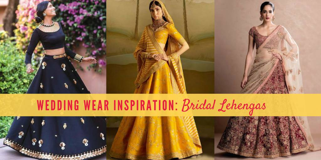 2b993d0c5a Move Beyond The Red-Offbeat Bridal Lehengas For Your Big Day