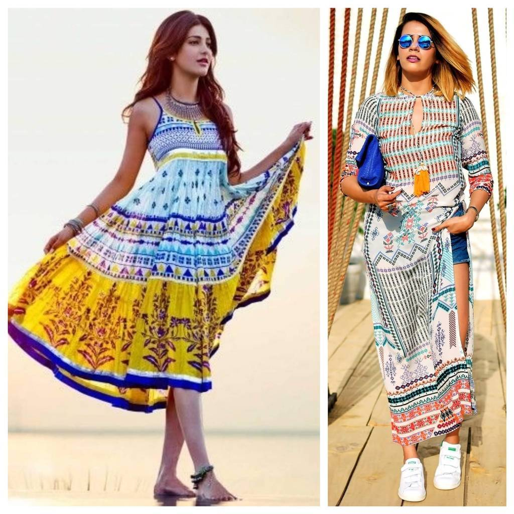 22ba97d2c2f To add an extra tone you can take a long kurta with slits and wear  contrasting shorts underneath it and there you have it. The perfect  solution to beat this ...