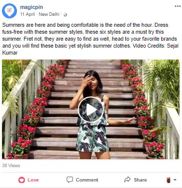 feature influencers - facebook post