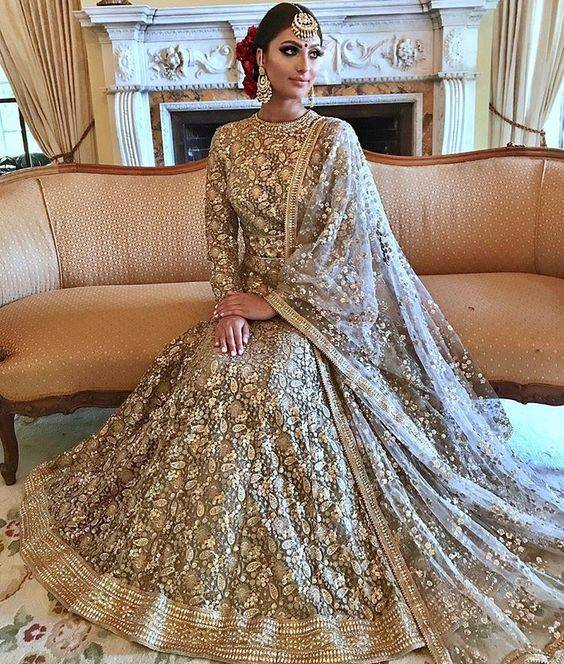 d859825e2218 16 Indian Wedding Gowns For Trending Bridal Wear | magicpin blog