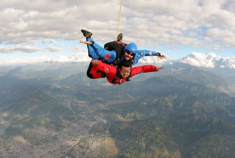 7 Places For Skydiving In India   magicpin blog