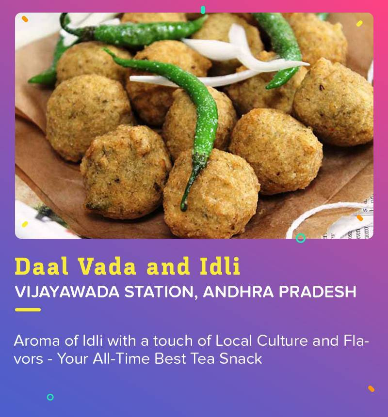 Daal Vada and Idli at Vijaywada Station to satiate your love for the South Indian food