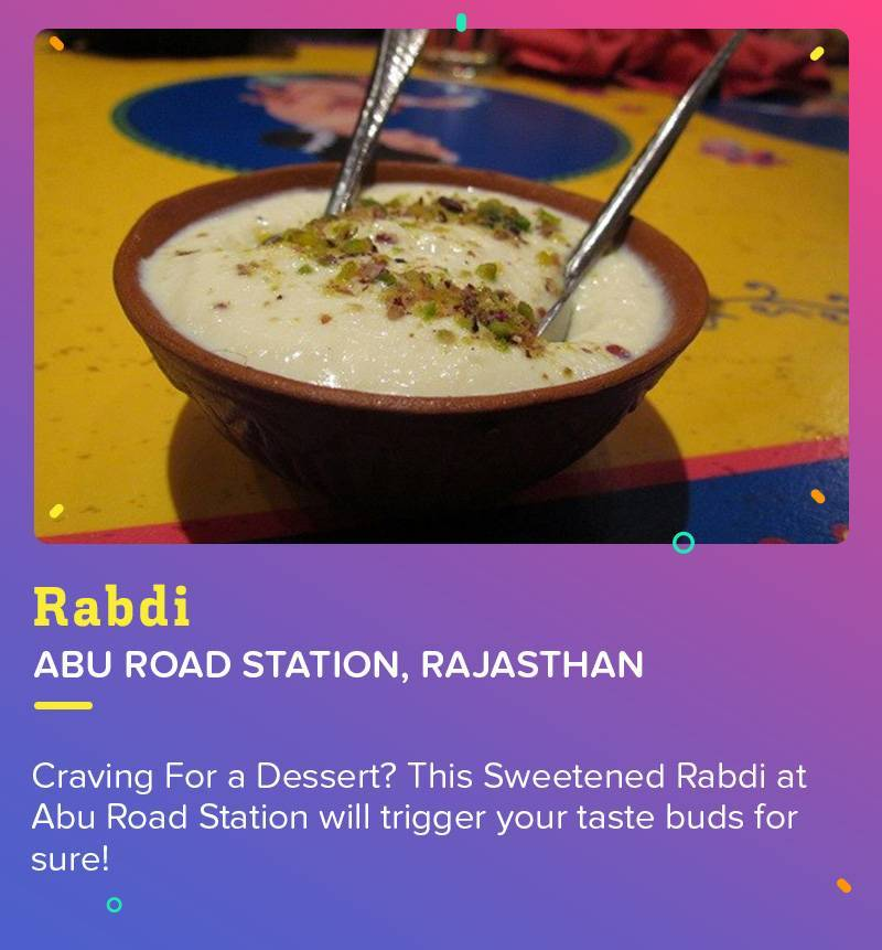 Rabdi at Abu Road Station is a true example of healthy and Desi Dessert