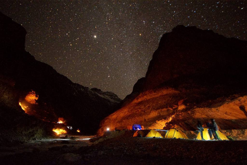 chadar trek at night_image