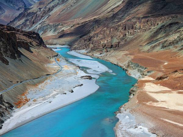 zanskar river in Summers_image