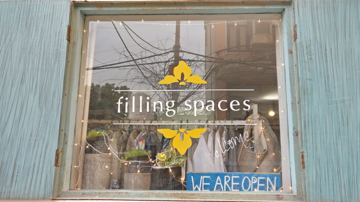 Filling space