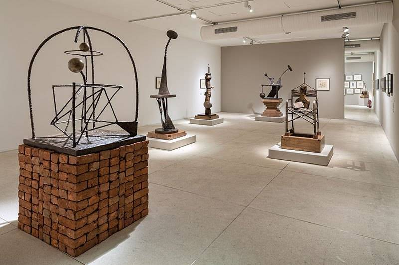the kiran nadar museum of art Hammer on the square_image