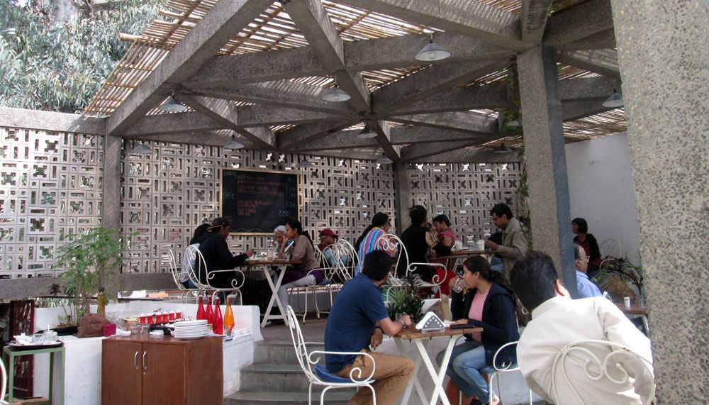 triveni terrace cafe in delhi_image