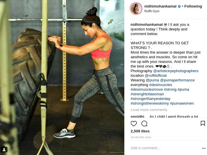fitness-influencers-india-nidhimohan