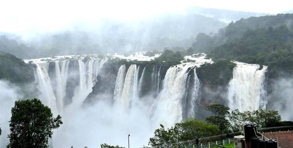 athirapally water falls-kerala in monsoon_image