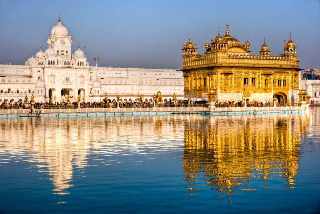 golden temple punjab in India_image