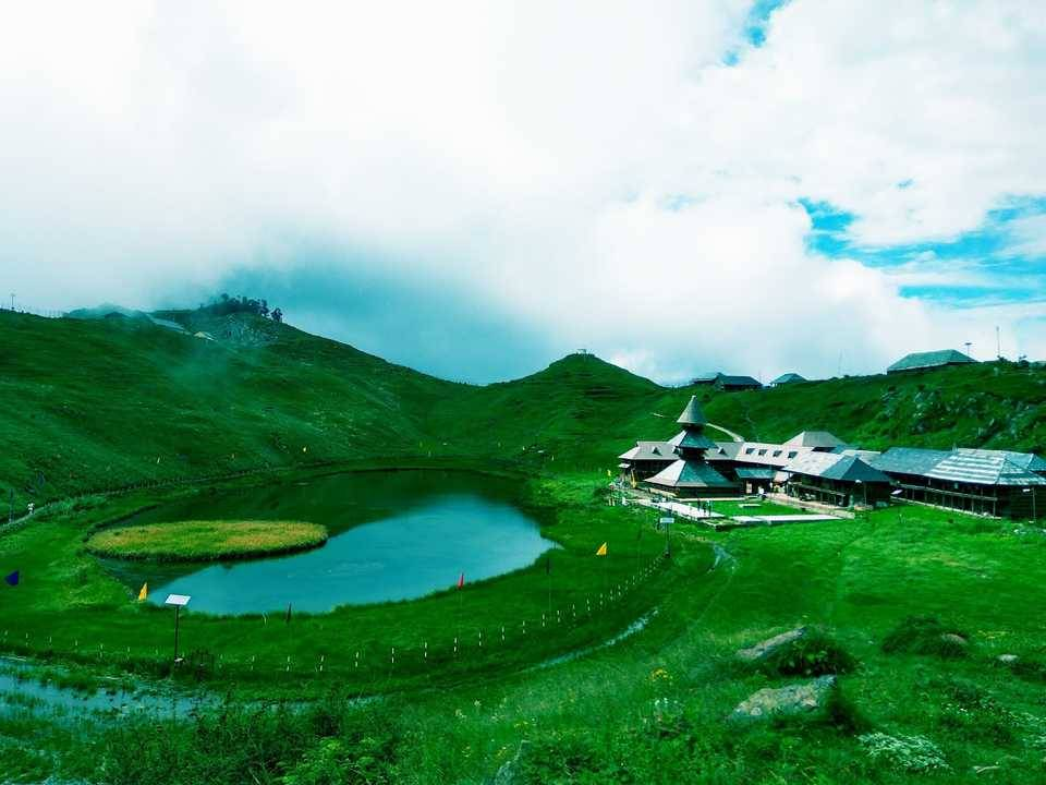 prashar lake trek in february kullu valley_image