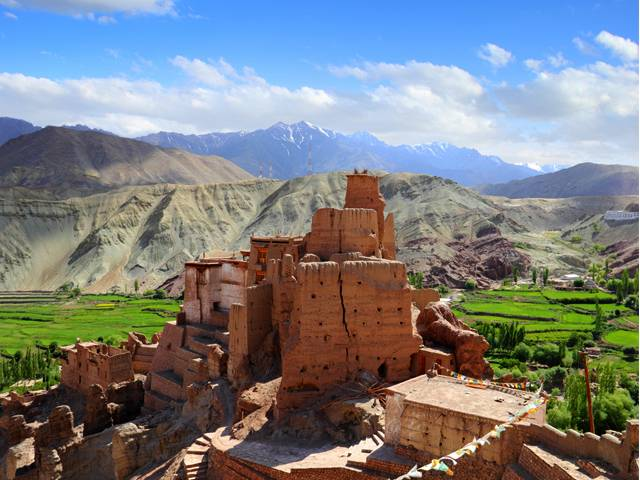 basgo fort in Leh-ladakh_image