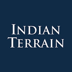 Indian terrain logo